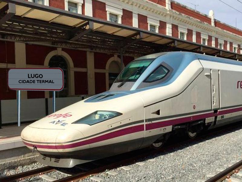 El AVE llega a Lugo