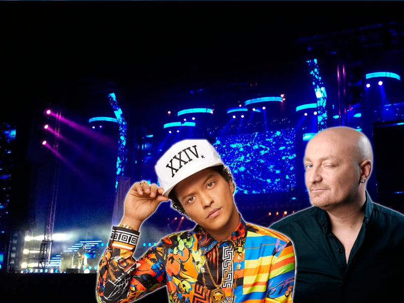 Bruno Mars en San Froilán con la Orquesta Panorama