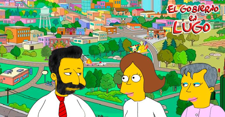 Los Simpson en Lugo