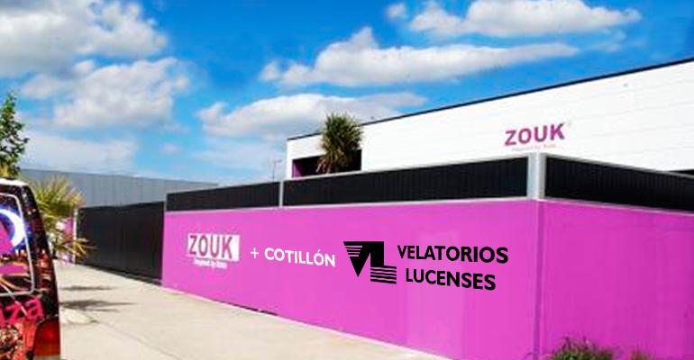Zouk y Velatorios Lucenses fiesta fin de año