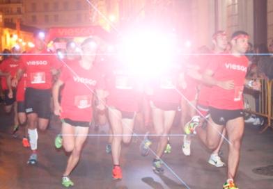 Detenidos cuatro runners de la Viesgo Night Race por utilizar las luces largas durante la carrera