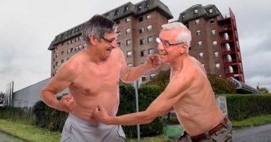 Dos ancianos llegan a las manos en la residencia de As Gándaras por la pertenencia de una dentadura