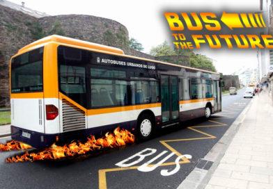 Varios autobuses urbanos sobrepasan con su velocidad la barrera del continuo espacio-tiempo