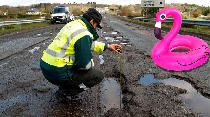 Comienzan las tareas de medición para la nueva playa fluvial en la N-540