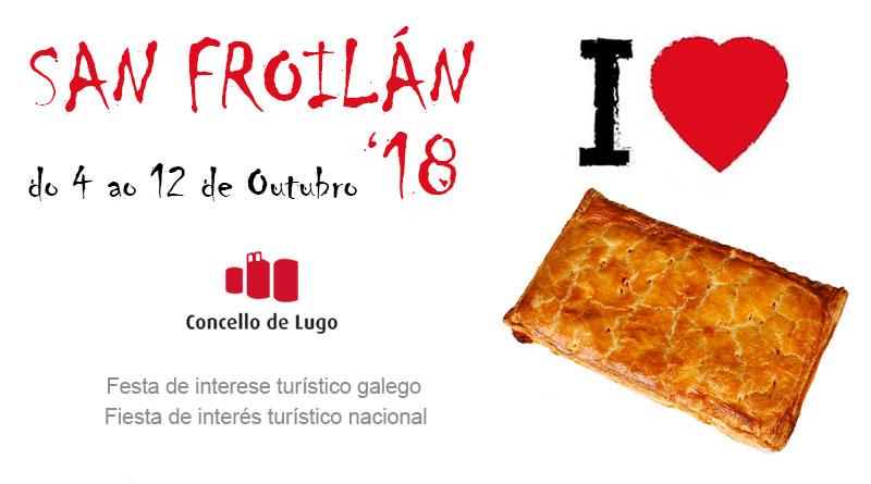 El cartel ganador de las fiestas de San Froilán sustituye el tradicional pulpo por empanada 'por si acaso'