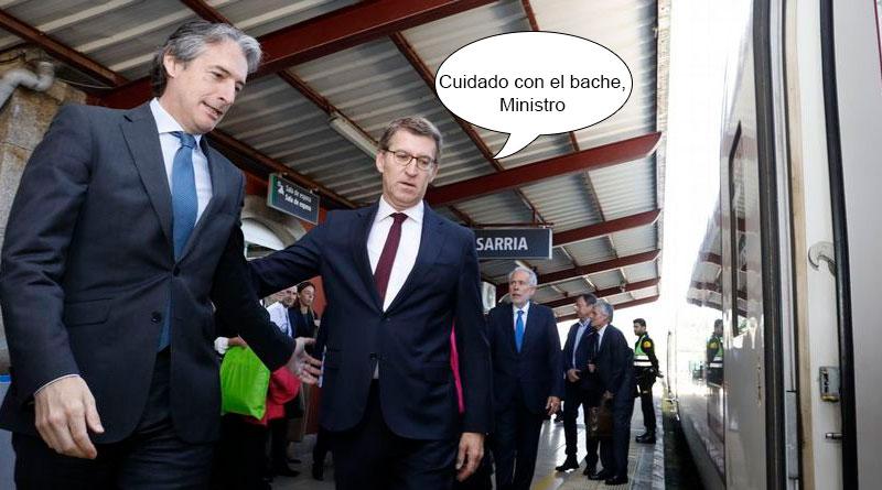 Fomento apuesta por invertir en el tramo ferroviario Lugo-Ourense y dejar que la N-540 se vaya desgastando