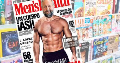 López Orozco sorprende a todos siendo la portada del número de septiembre de la revista Men's Health