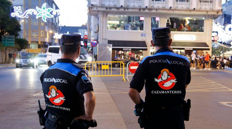 Cazamanteros, la nueva patrulla de la policía local para evitar la venta en las calles durante San Froilán