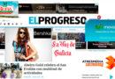 'El Progreso' ya cuenta con más anuncios que noticias en su nueva página web