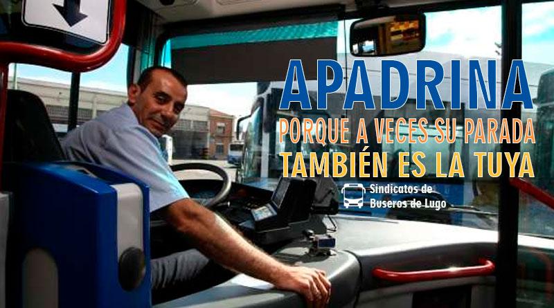 Comienza la campaña para apadrinar conductores de autobús y ayudarles con sus nuevas rutas