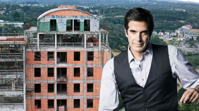 David Copperfield hará campaña por Lara Méndez y se compromete a hacer desaparecer O Garañón