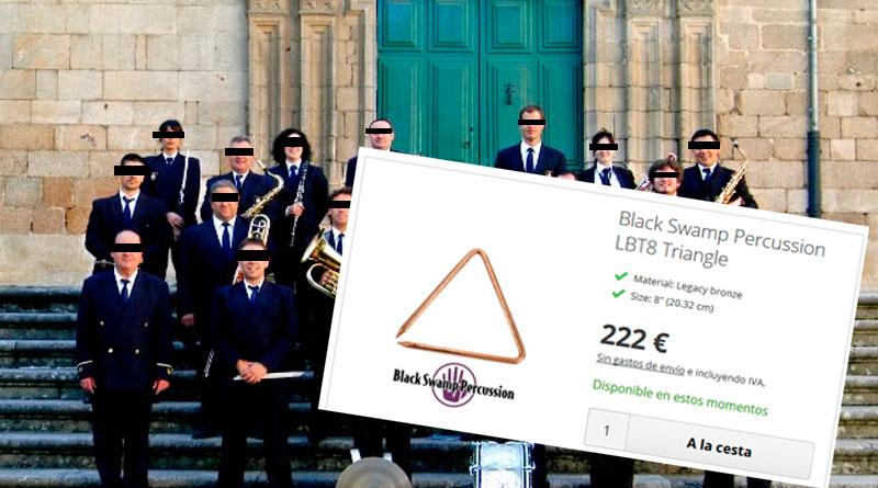 """La escuela de música vacía las arcas municipales al hacer una compra de 1.500 triángulos que """"eran necesarios"""""""