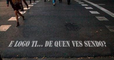 El Ayuntamiento de Lugo lanza una iniciativa para pintar frases típicas en los pasos de peatones