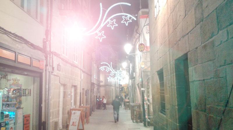 Los comerciantes del centro indignados porque las nuevas luces de navidad deslumbran a sus clientes