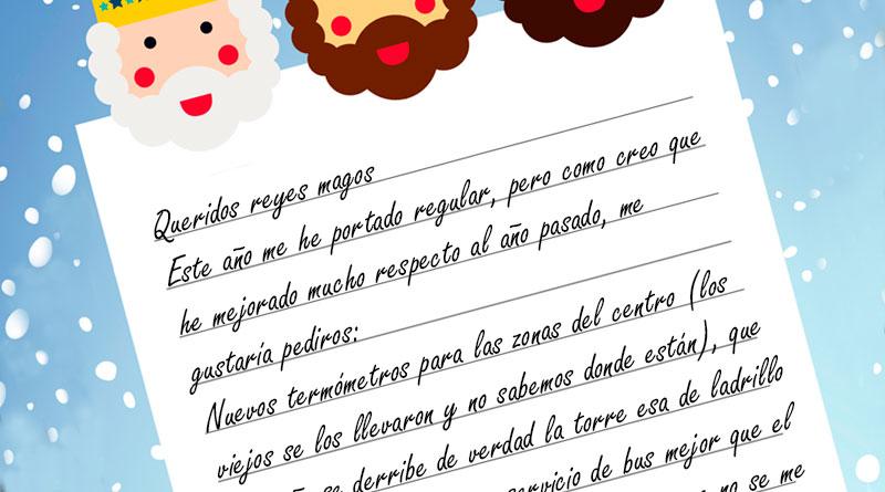 Filtrada en redes la carta que Lara Méndez escribió a SSMM los Reyes Magos
