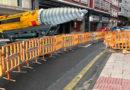 El Ayuntamiento confirma sus intenciones de llegar al centro de la tierra con las zanjas en la Avda. de A Coruña