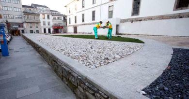 Los empleados de Calfensa creen imposible que el jardín trasero del Cuartel de San Fernando, sea un jardín