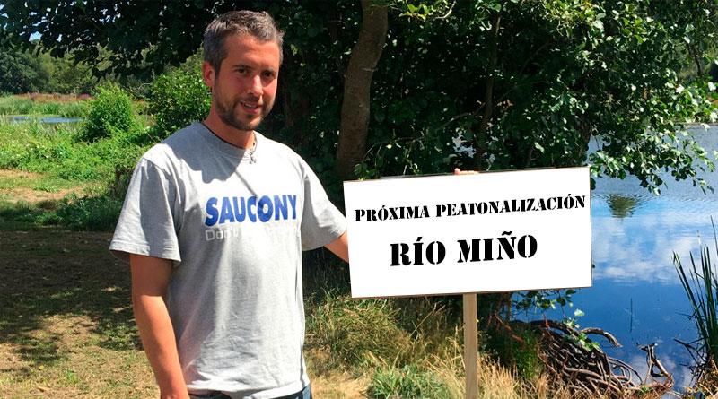 El BNG Lugo propone peatonalizar cualquier sitio por el que pase Rubén Arroxo