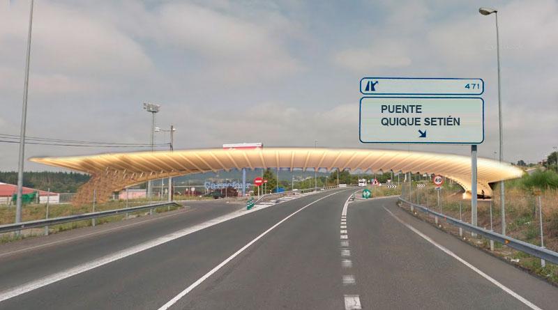 El Ayuntamiento bautizará la futura pasarela al Ángel Carro como 'Pasarela Quique Setién'