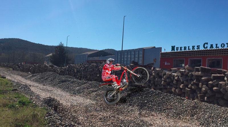 El Ayuntamiento de Puebla de San Julián destinará los restos de la vía del tren para crear una pista de Motocross