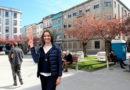 Lara Méndez inaugura la nueva Plaza de A Milagrosa y ya da por ganadas las elecciones