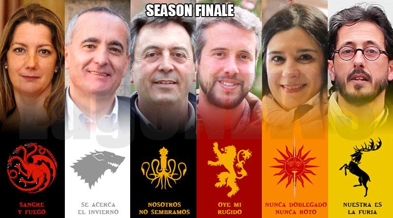 Temporada final juego de tronos
