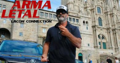 Mel Gibson confirma en A Fonsagrada el comienzo del rodaje de 'Arma Letal 5: Lacón Connection'