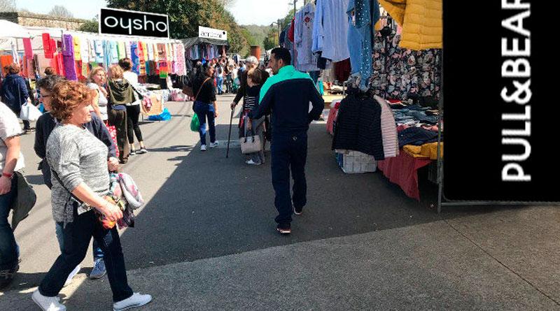 Oysho, Pull&Bear y Amichi trasladarán sus tiendas del centro al mercadillo de Frigsa