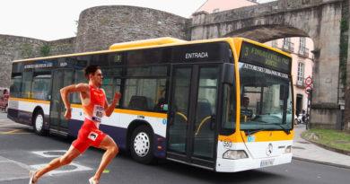 Adrián Ben ya es más rápido que las líneas de autobús urbano 2, 5 y 7