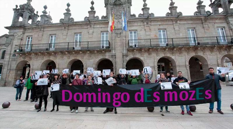 Lugo Sen Mordazas llama a la movilización en las calles para luchar por un 'Domingo des Mozes' totalmente inclusivo