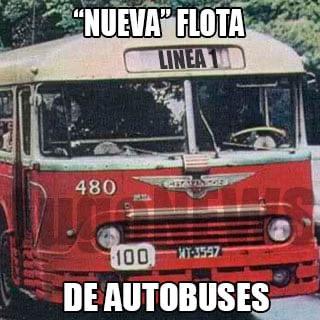 Nueva flota de autobuses