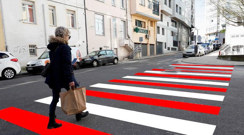 El Ayuntamiento pintará algunos pasos de cebra de color rojiblanco