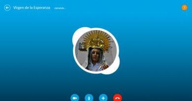 La Virgen de la Esperanza hace pública su cuenta de Skype para aquellos que quieran cantarle la 'Salve'