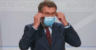 Feijóo regalará mascarillas del PP a todos los habitantes de A Mariña que se acerquen a votar el domingo
