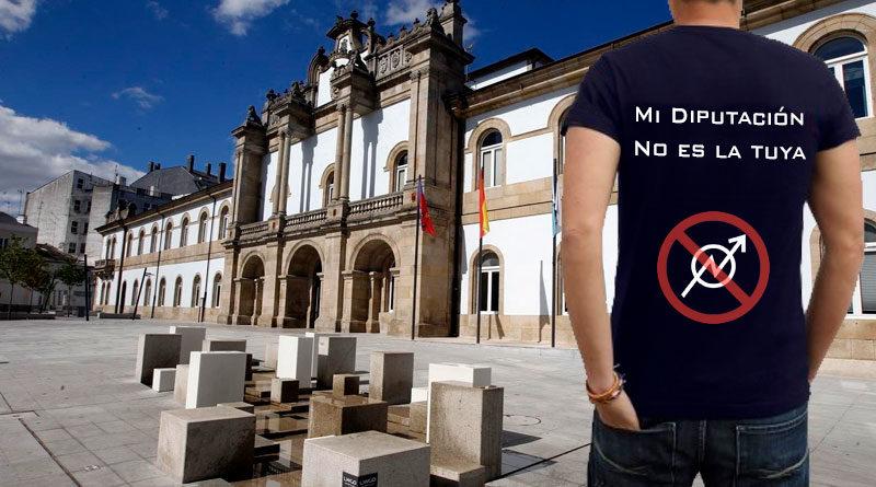 Una empresa 'antiokupas' se ve obligada a actuar en la Diputación ante la negativa de Balseiro de abandonar su despacho