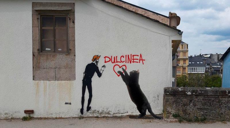 Un rumor afirma que el Primo de Banksy podría ser también un gato grande