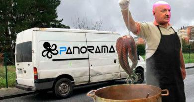 La Orquesta Panorama se resiste a no estar en este San Froilán y se apuntan a la moda de vender pulpo por la ciudad