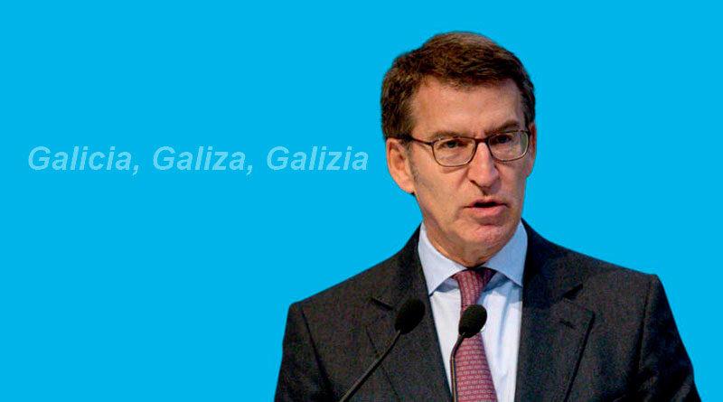 Feijóo aboga por convertir el castrapo en la nueva lengua vehicular de Galicia