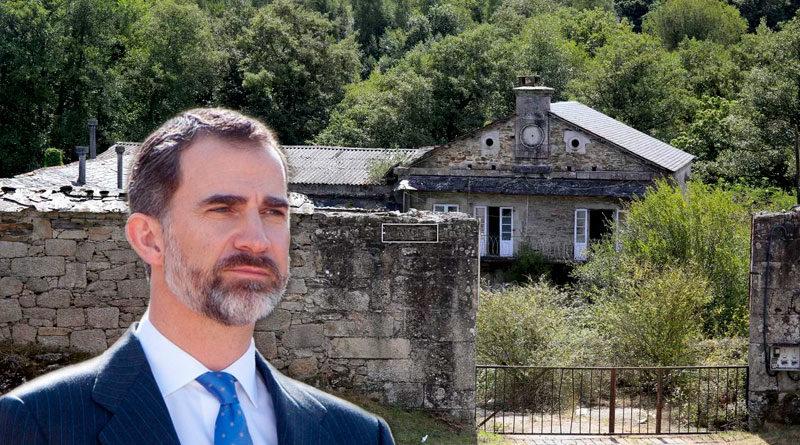 El Rey solicita al Ayuntamiento pasar su cuarentena en el Pazo de A Fervedoira pero los okupas lo declaran 'persona non grata'