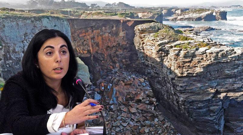 El PP de Lugo culpa al BNG y sus cambios de tráfico en las calles de la ciudad del desprendimiento en As Catedrais