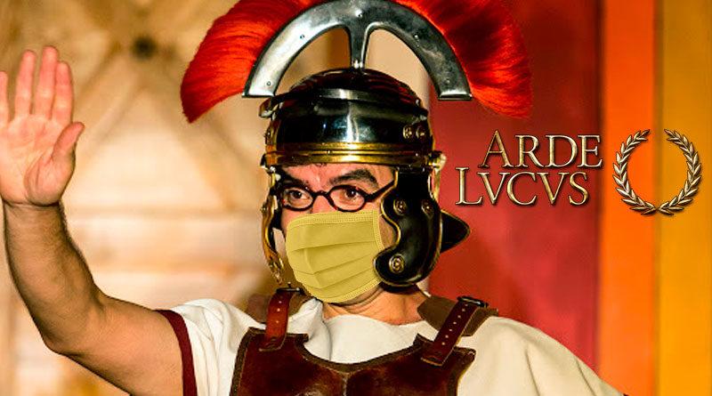 El Ayuntamiento fabricará mascarillas hechas a partir de tripa de cerdo para celebrar Arde Lucus con seguridad y rigurosidad histórica