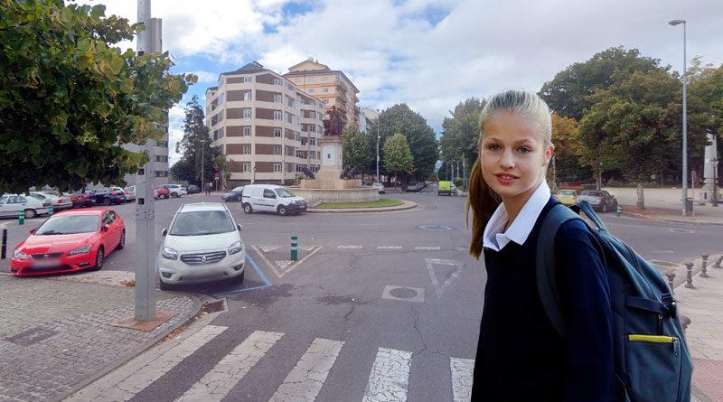 La Princesa Leonor estudiará finalmente en un instituto de Lugo