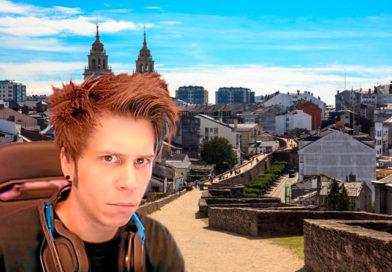 El Rubius se planteó trasladar su residencia a Lugo hasta que se enteró que dentro de murallas no hay fibra óptica