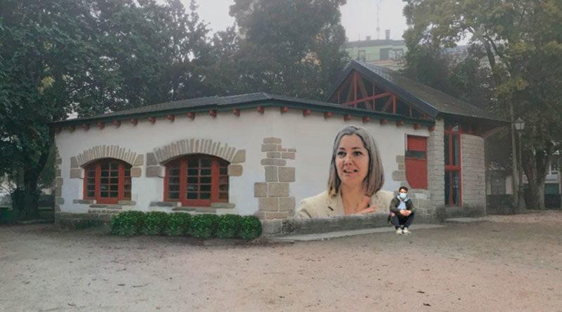 El grafitero Diego As será el encargado de pintar un mural de Lara Méndez para celebrar el centenario del Parque de Rosalía