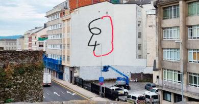 Una campaña en redes sociales propone cambiar el nuevo mural de Julio César por el de un 6 y un 4