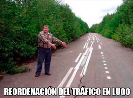 Reordenación tráfico Lugo