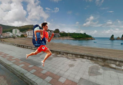 Adrián Ben saldrá mañana corriendo desde Viveiro para llegar a tiempo a los juegos olímpicos de Tokyo