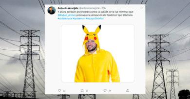 Ameijide critica la doble moral del BNG contra las eléctricas publicando una foto de Arroxo disfrazado de Pikachu