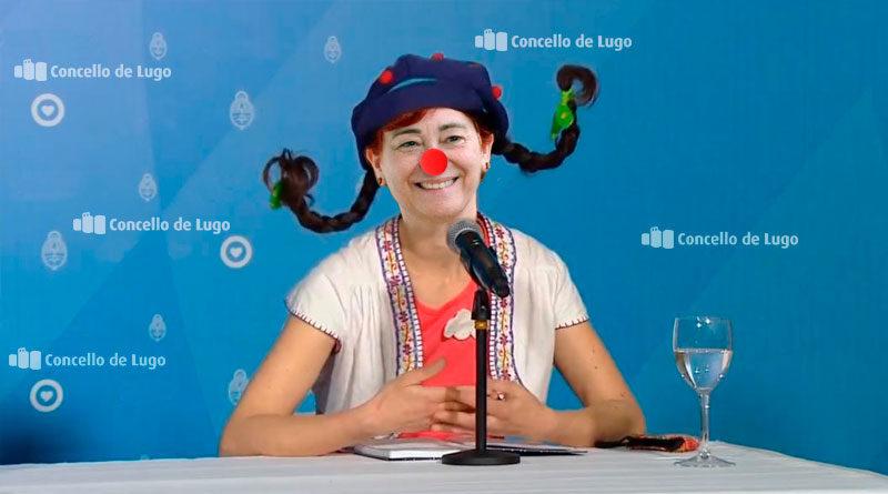 No habrá barracas en San Froilán, pero Maite Ferreiro visitará todas las casas de Lugo para amenizar la fiesta a los niños