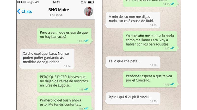 Un concejal del PSOE filtra una conversación entre Lara Méndez y Maite Ferreiro discutiendo sobre las barracas